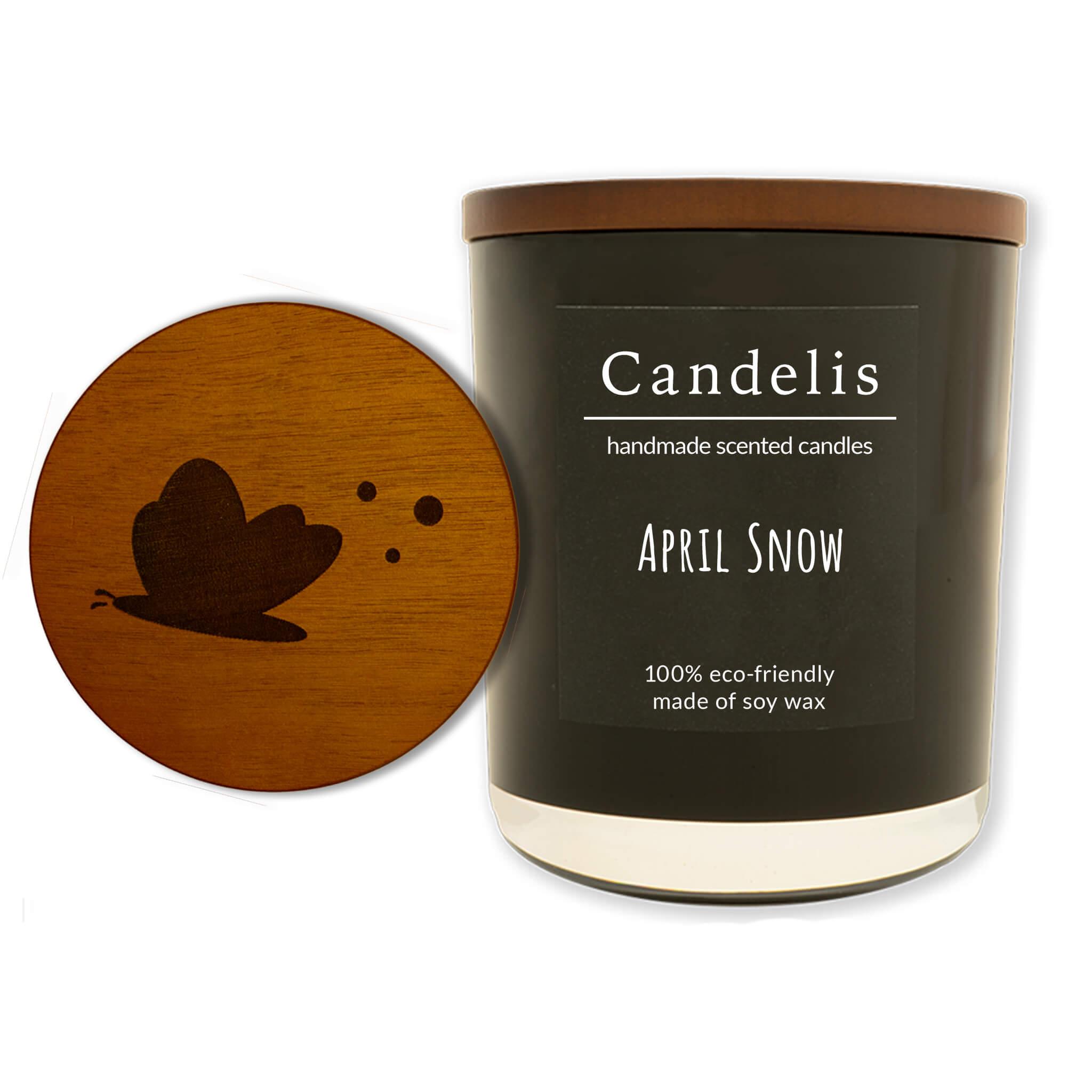 April Snow zwart collectie single
