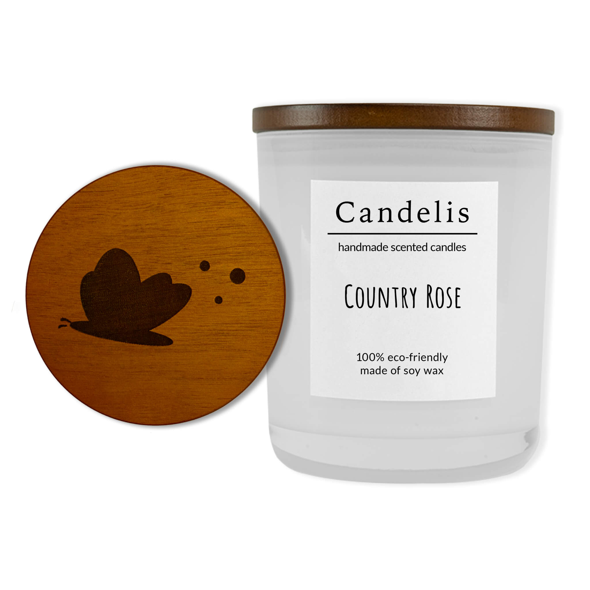 Country Rose wit collectie