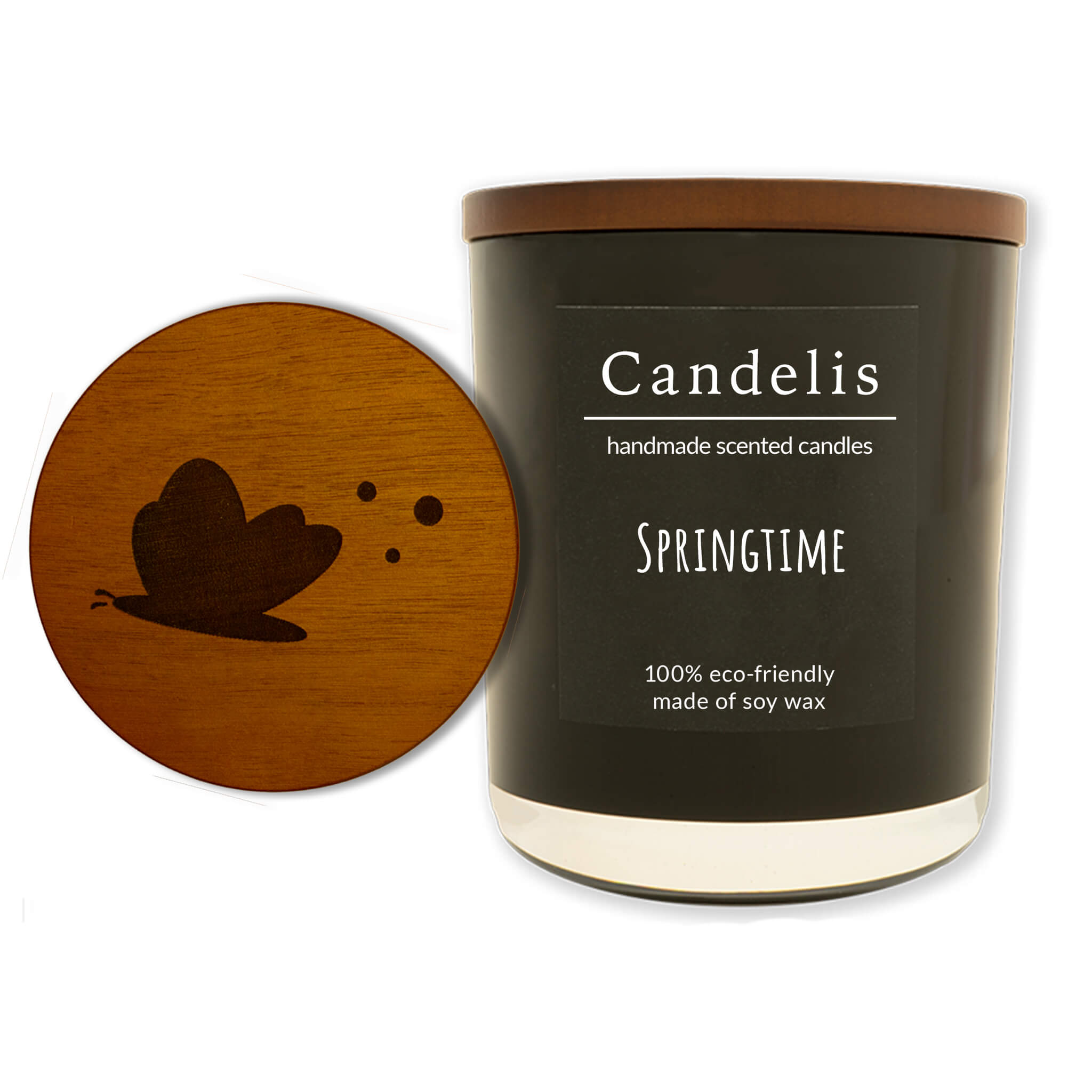 Springtime zwart collectie single
